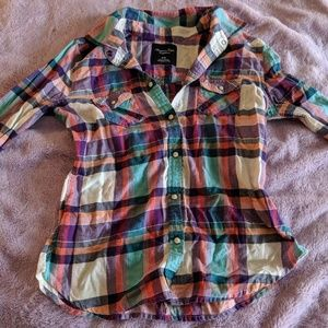 American Eagle Button Down, M